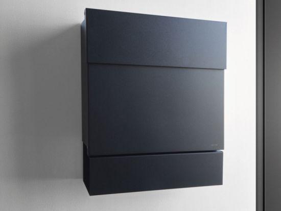 Letterman V Briefkasten radius design briefkasten letterman 5 edelstahl kaufen im borono
