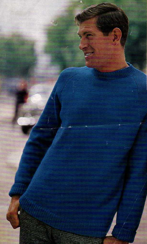 The Vintage Pattern Files Free 1960s Knitting Pattern Mens