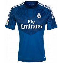 Real Madrid CF 2014-15 Season Goalkeeper Blue Soccer Jersey [A847]