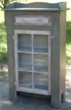 Amish Primitive Jelly Cupboard