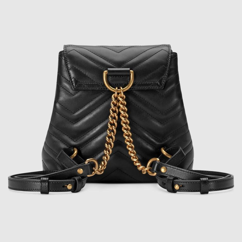 14b1a0c5f49 Shop the GG Marmont matelassé backpack by Gucci. For the Pre-Fall 2018