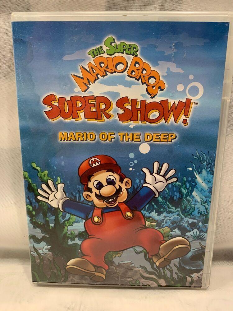 Super Mario Bros Super Show Mario Of The Deep Dvd 2008