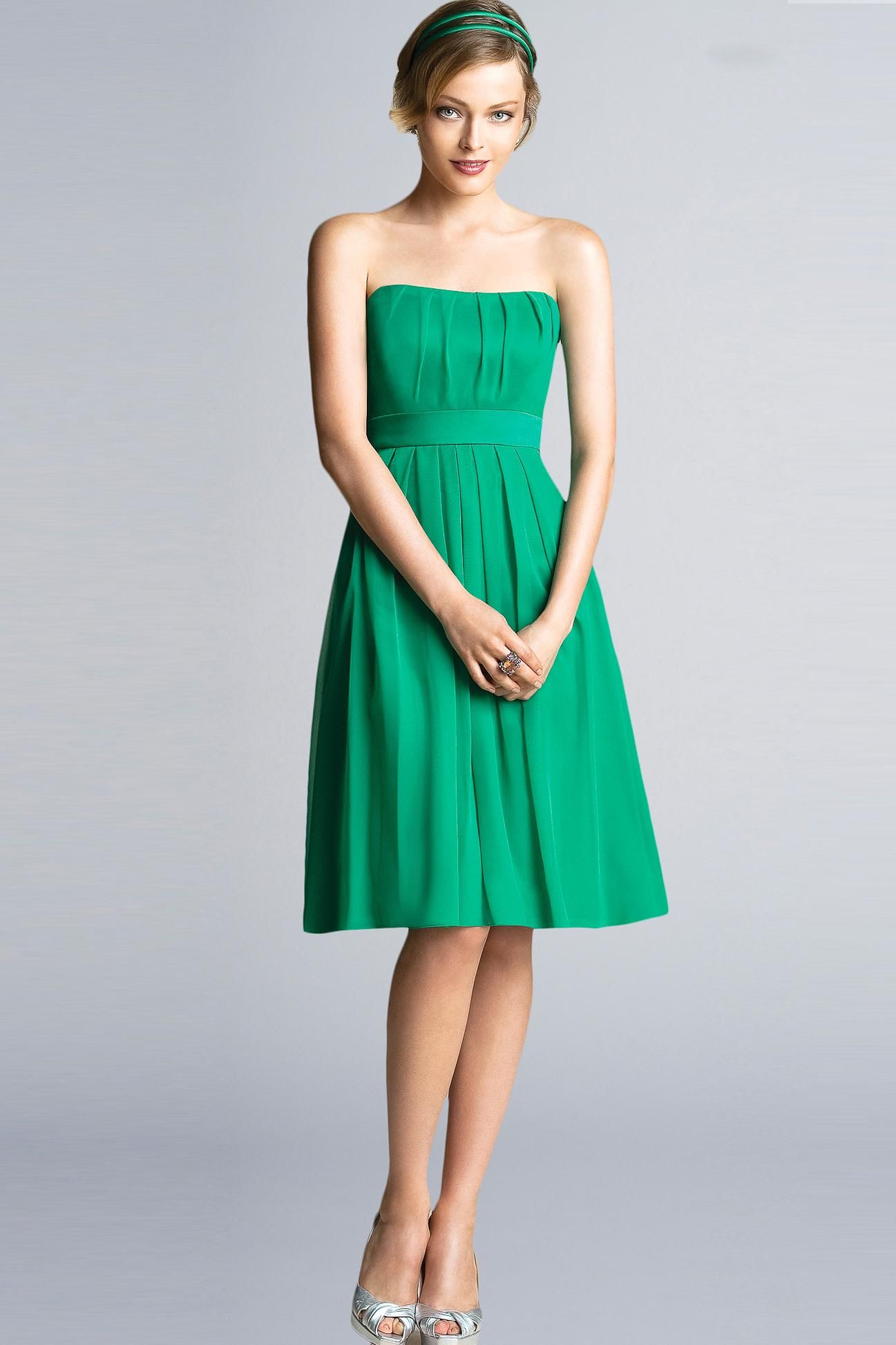 for a green dress this is fab | Dresses | Pinterest | Fashion