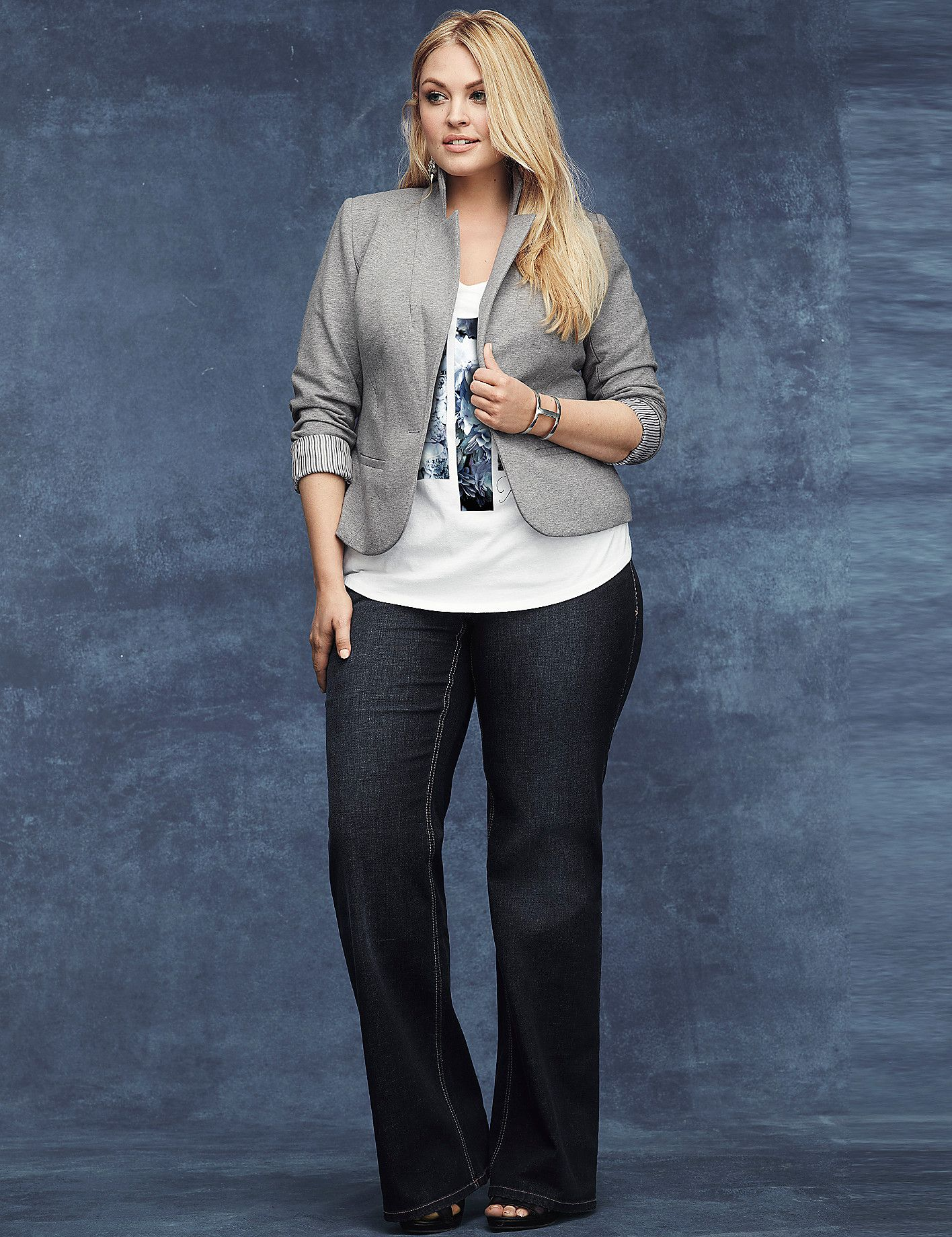 Genius Fit™ Trouser Jean by Lane Bryant | Lane Bryant | Plus Size ...