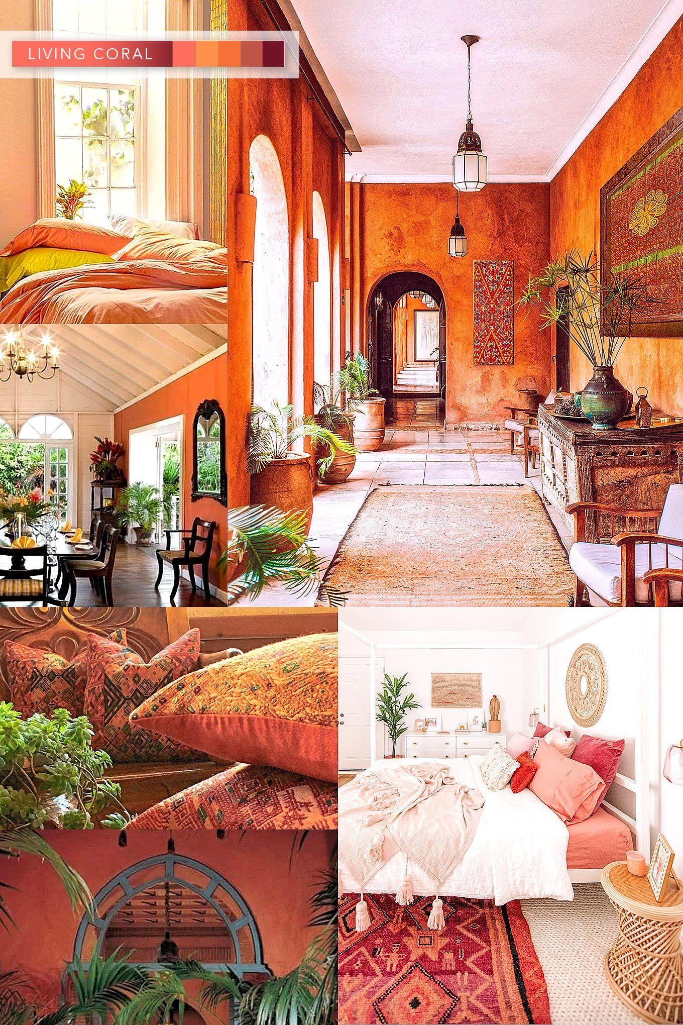 Interior Decor Color Trends For 2020 Colorful decor