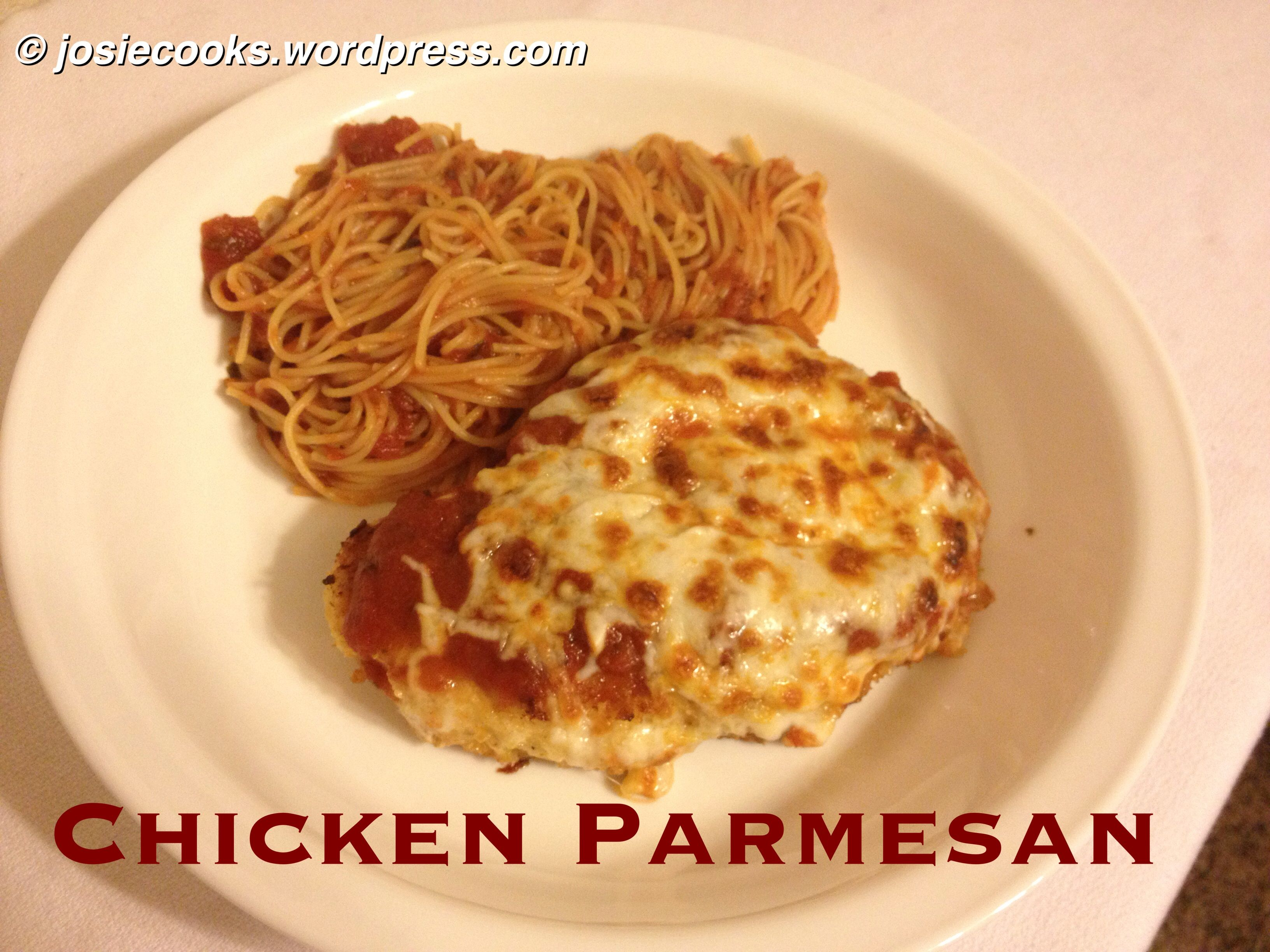 Chicken Parmesan Chicken parmesan, Poultry recipes, Food