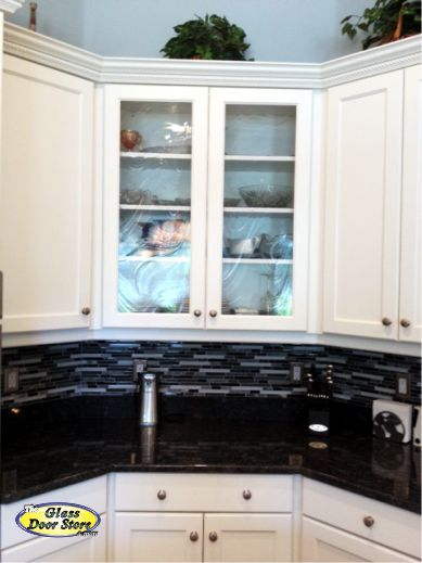 Gl Installed In The Kitchen Cabinets Http Gldoorstampa Cabinet