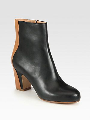 Leather Ankle Boots Maison Martin Margiela SP7RVP4NLU