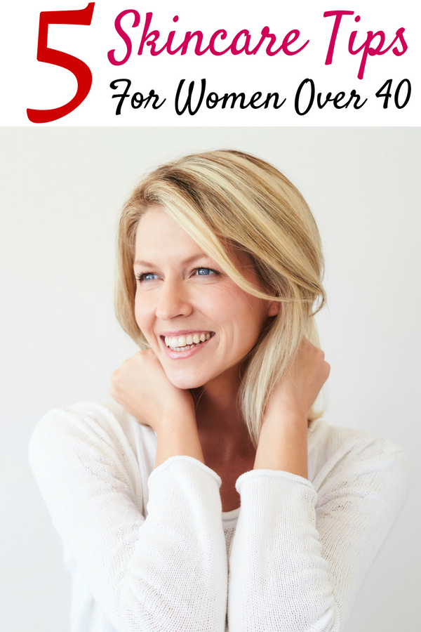 The 5 Best Skincare Tips For Women Over 40 Skin Care Women Beauty Facial Serum