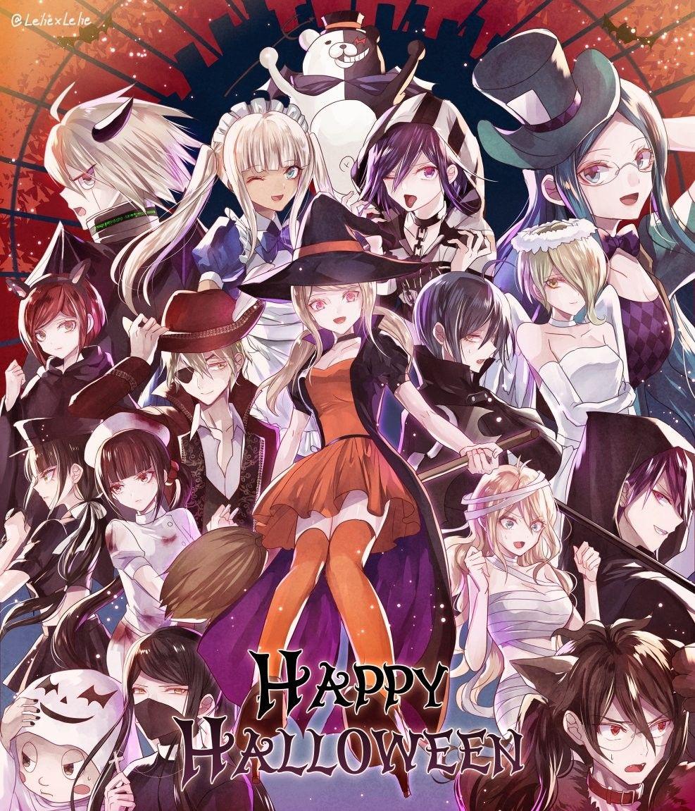 Danganronpa Halloween Danganronpa Anime Halloween Danganronpa Characters