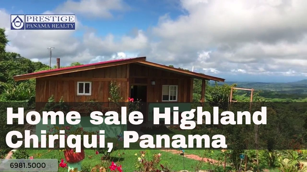 Home for sale in the highlands of Chiriqui, Panama