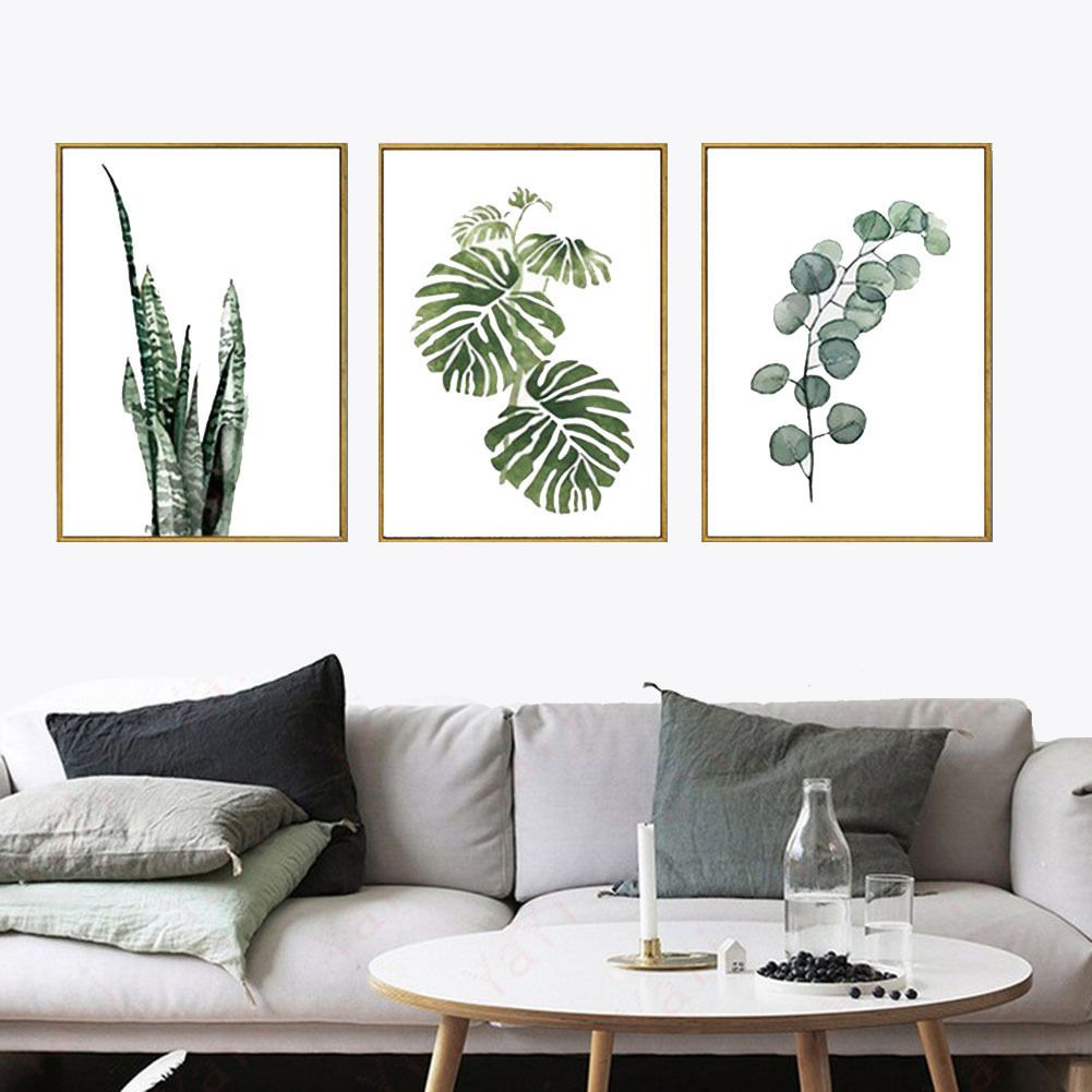 Hd Canvas Print Home Decor Wall Art Plants Painting Print Picture ...