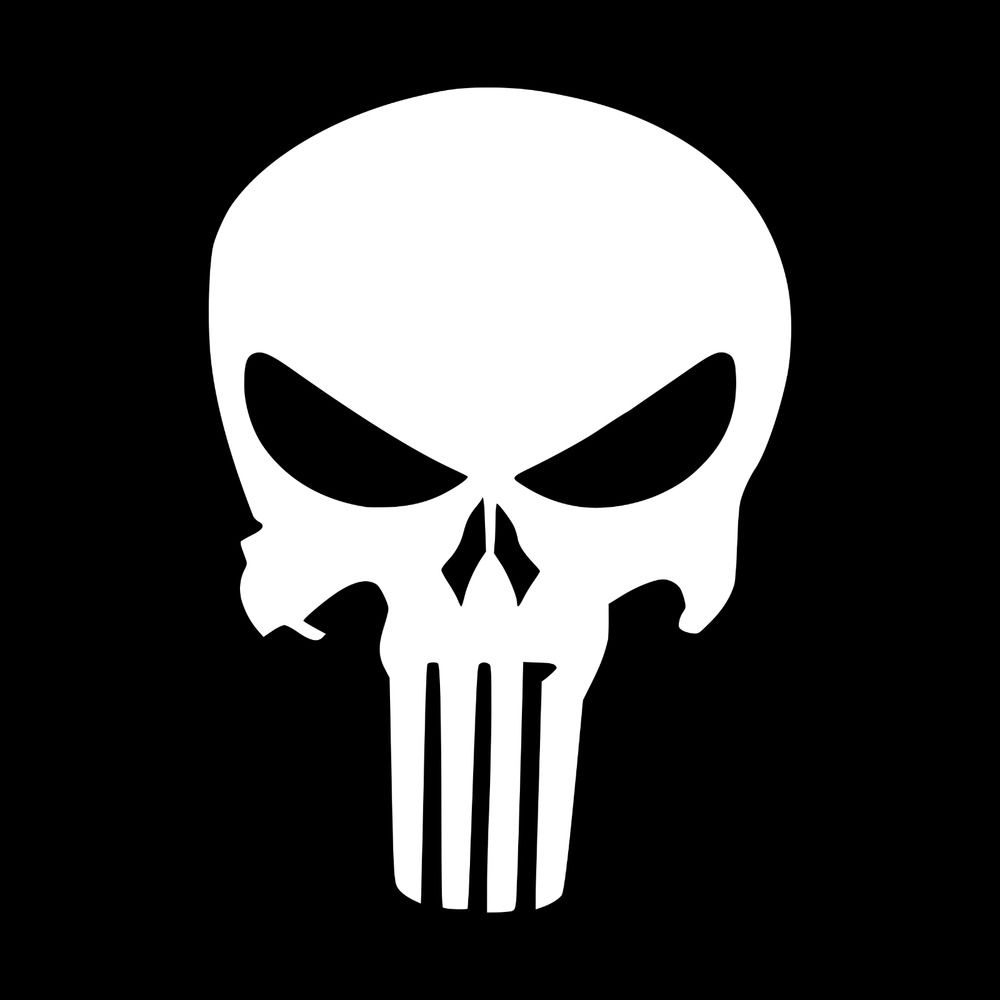 The Punisher Skull Vinyl Decal Sticker Car Truck Window Tumbler
