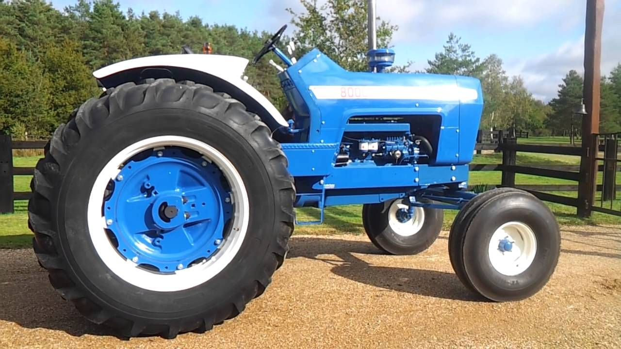 Image result for ford 8000 Tractor Implements, Antique Tractors, New Holland  Tractor, Ford