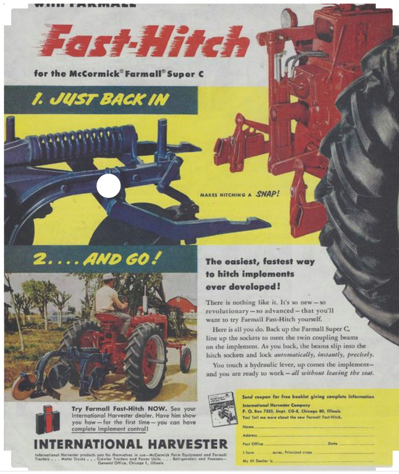 Agriculture/farming Mccormick Tractor Booklet Tractor Manuals & Publications