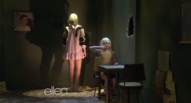 Sia performs chandelier on ellen chandeliers sia performs chandelier on ellen aloadofball Gallery