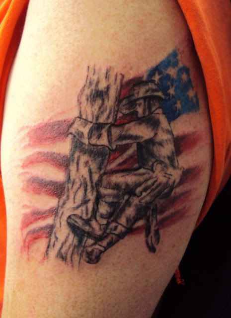 Kb jpeg power lineman tattoo rate my ink pictures designs for Electrical tattoos ideas