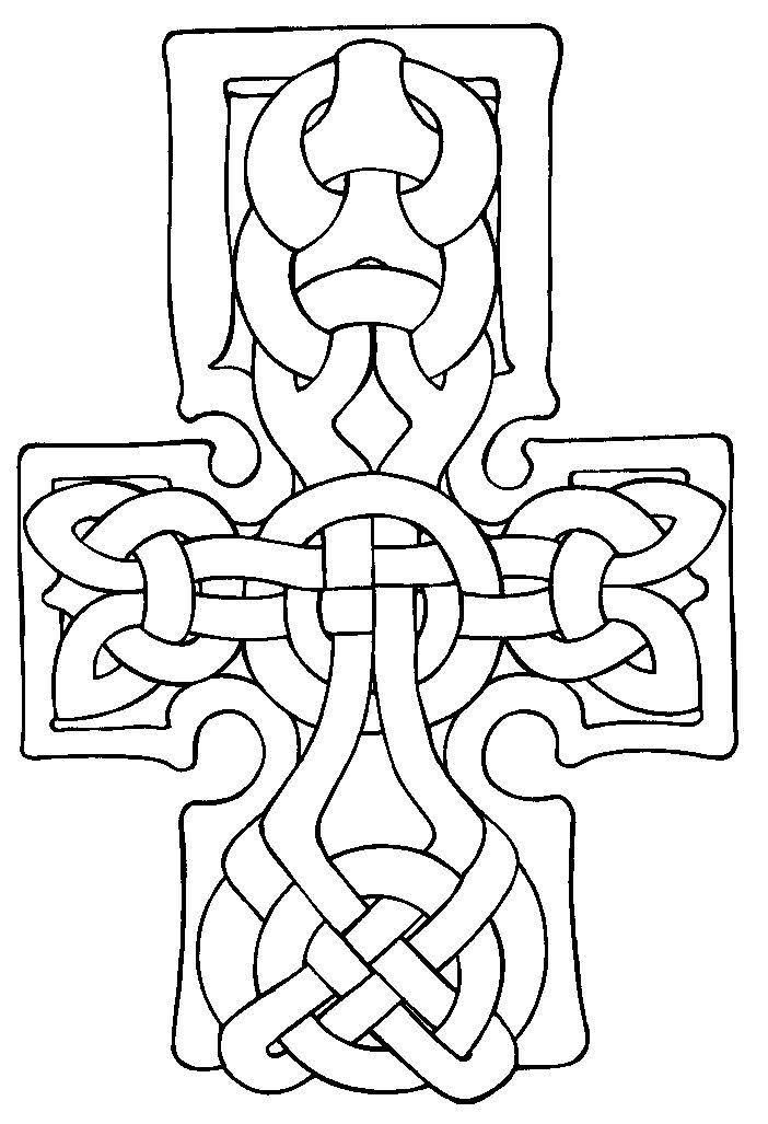 Free Printable Irish and Celtic Symbols Collection | Celtic Coloring ...