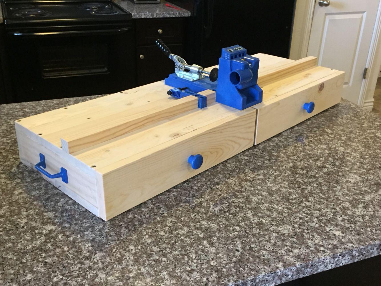 My Kreg Jig Work Station Woodworking Wood Shop Projects Kreg