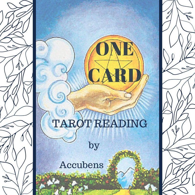 One card psychic tarot reading by accubens on etsy tarot