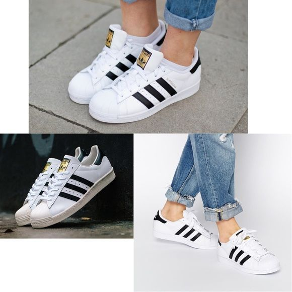 Adidas superstar sneakers Worn about 5 times,size runs big, this is kids  size fits women I normally wear size TRADE\u203c Adidas Shoes Sneakers