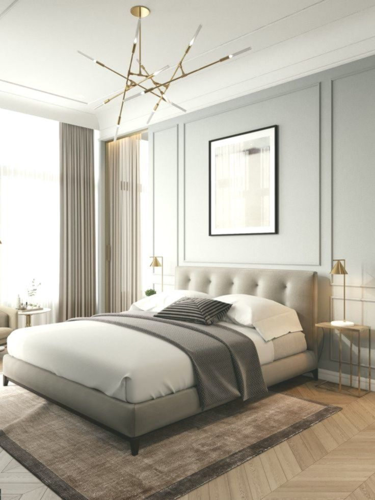 8 Contemporary Bedroom Stylethat Will Make You Reluctant To Get Out Of Your Room Bedroom Contemporary Luxurious Bedrooms Apartment Interior Classic Bedroom