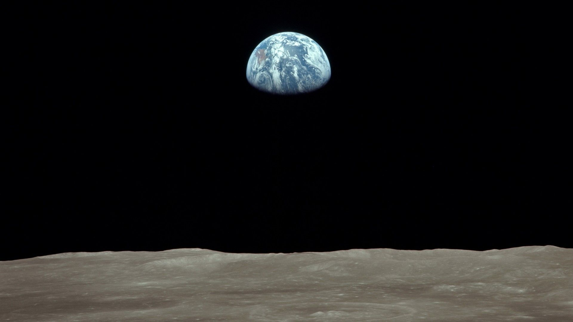 Earth moon nasa astronomy earthrise (1920x1080, moon, nasa