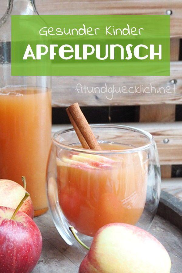 Warmer Apfelpunsch für die ganze Familie - Fit & Glücklich