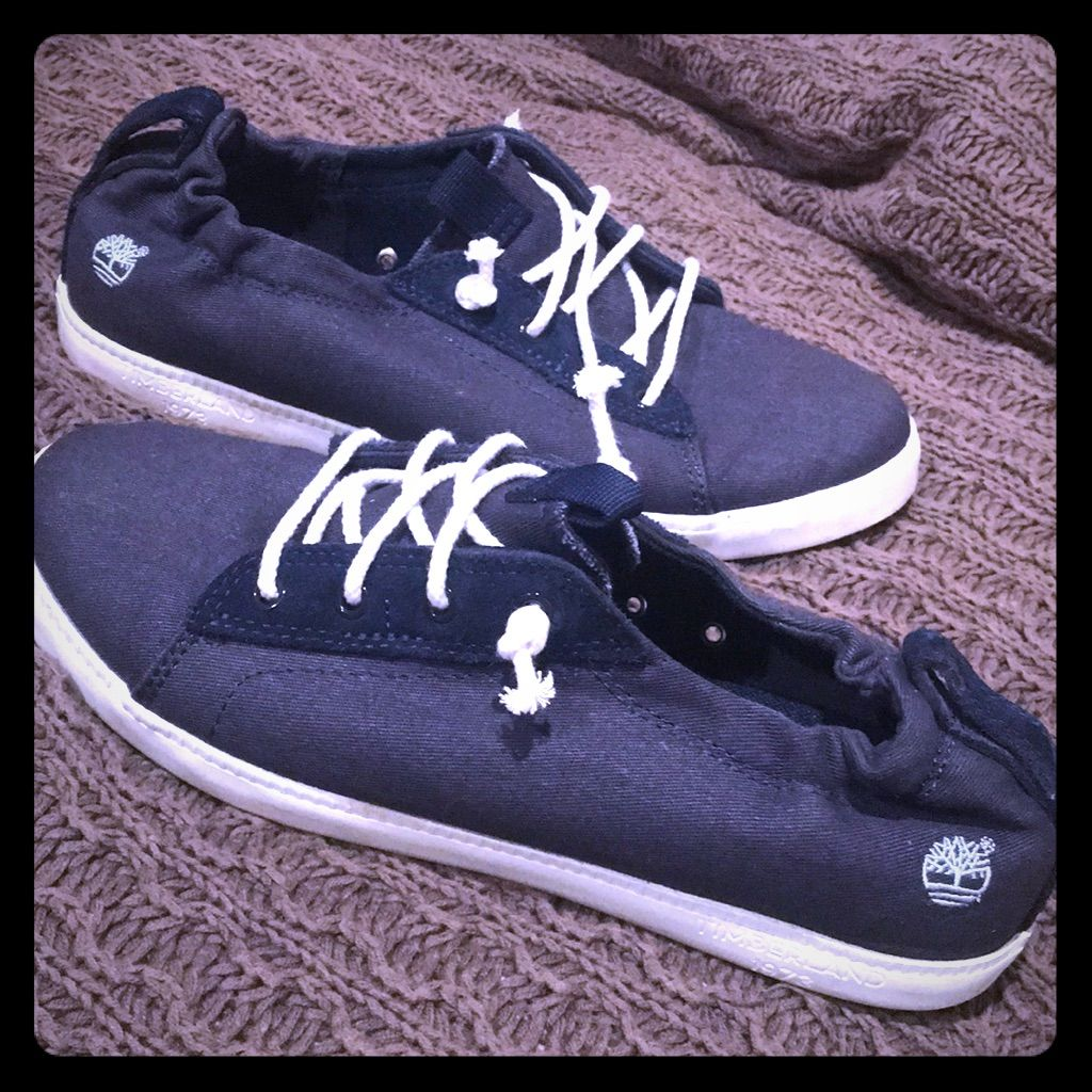 Timberland Shoes | Timberland Ortholite Blue Low Top Casual