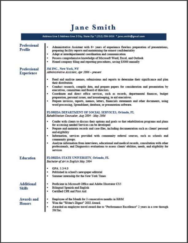 Resumegenius Resume Template In 2020 With Images Best Resume Template