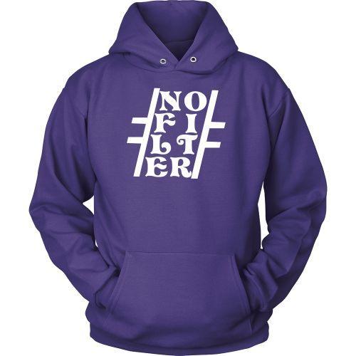#NoFilter, White / Hoodie