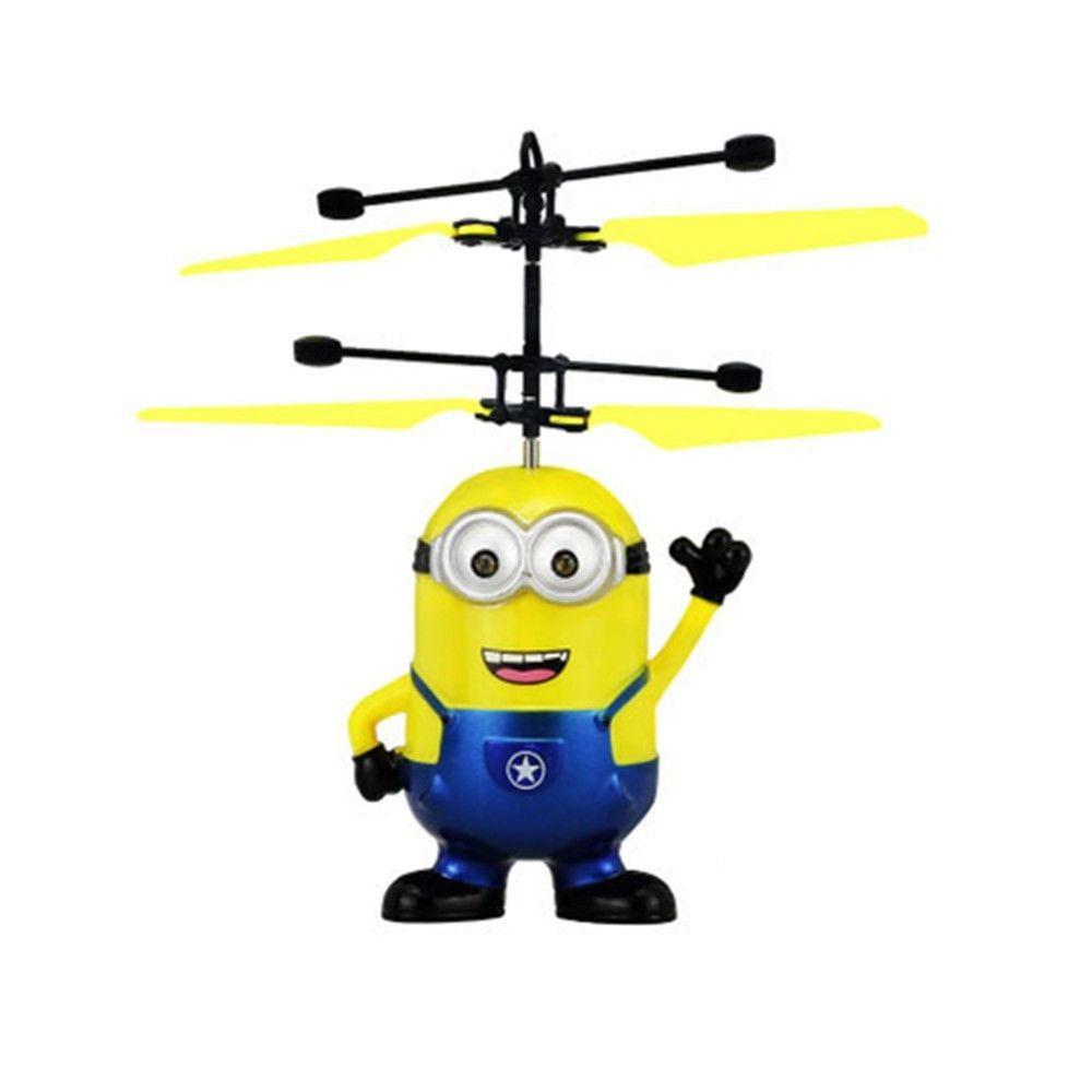 Despicable Me 2 Flying Minion Remote Control Helicopter Toy Kids Movie Cartoons