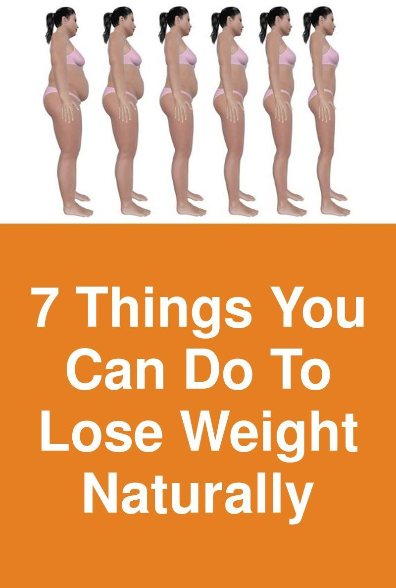 7 things you can do to lose weight naturally | weight loss