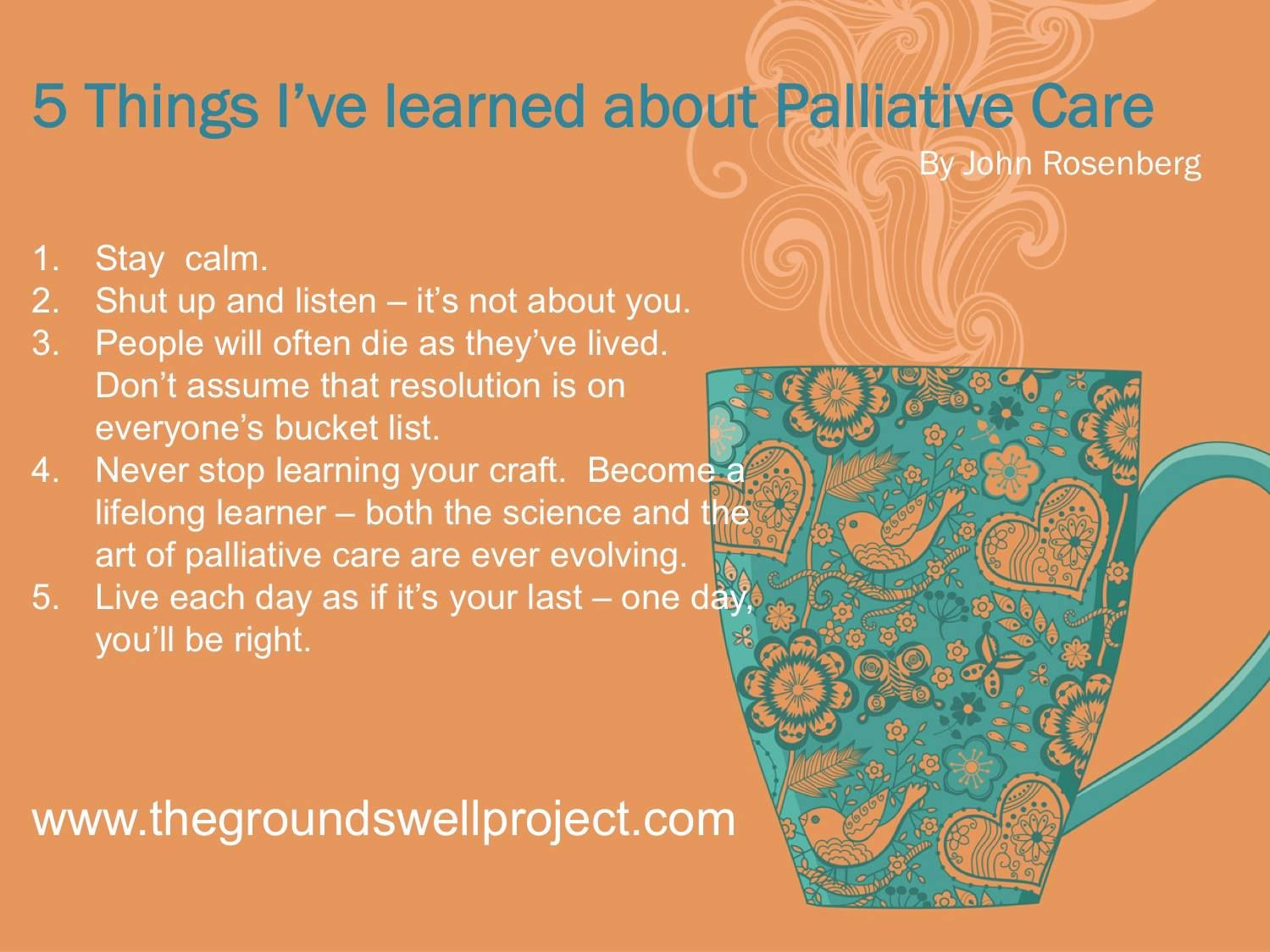 Hospice Nurse Quotes About Palliative Care  Palliative Care Is What I Do Pinterest