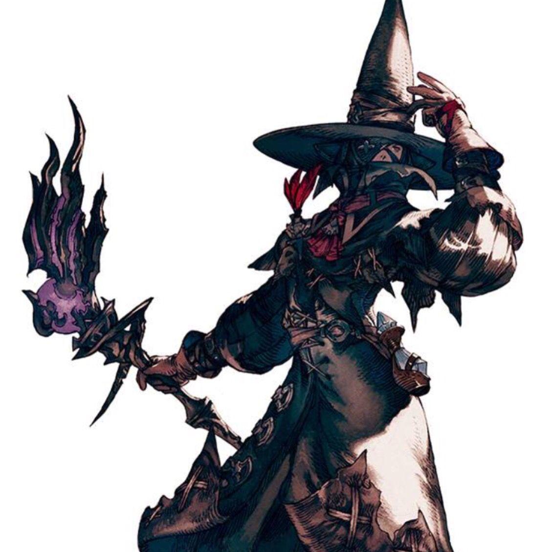 Black mage #ffxiv #finalfantasy14 | FF XIV | Diseño de personajes