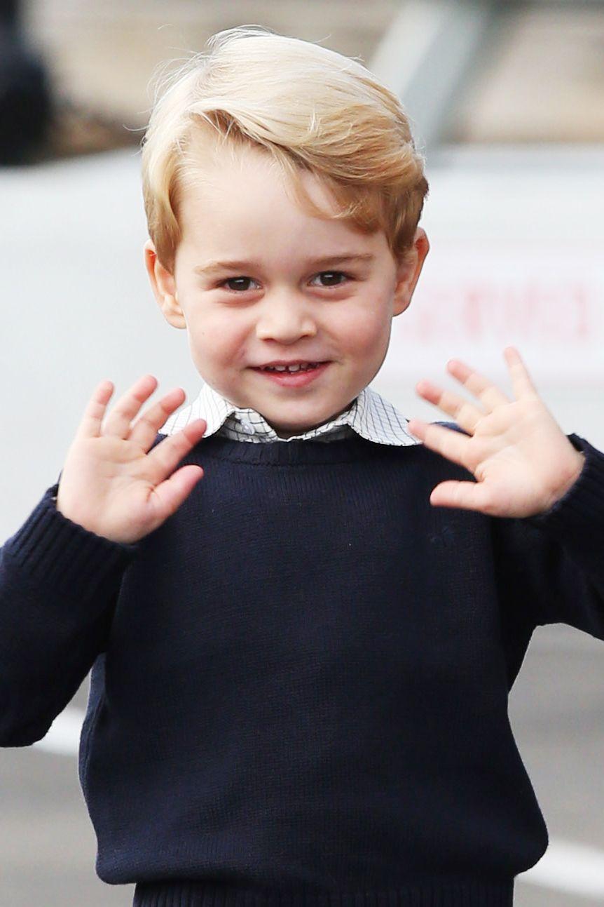 So heiß wird Prinz George als Erwachsener aussehen | Kate ...