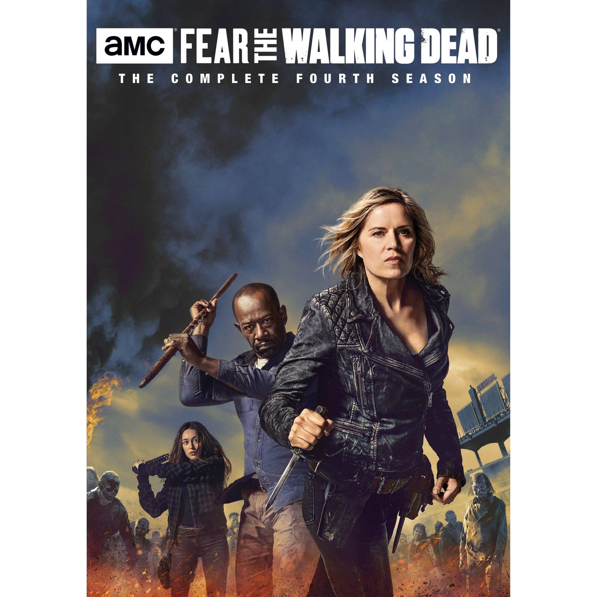 Fear The Walking Dead Season 4 Dvd In 2021 Fear The Walking Fear The Walking Dead The Walking Dead