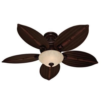 Hunter Curacao Cocoa Ceiling Fan 54 Inch 27317 Home