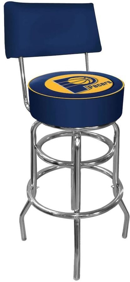Indiana Pacers Padded Swivel Bar Stool With Back Bar Stools With Backs Swivel Bar Stools - Home Bar Furniture Toronto