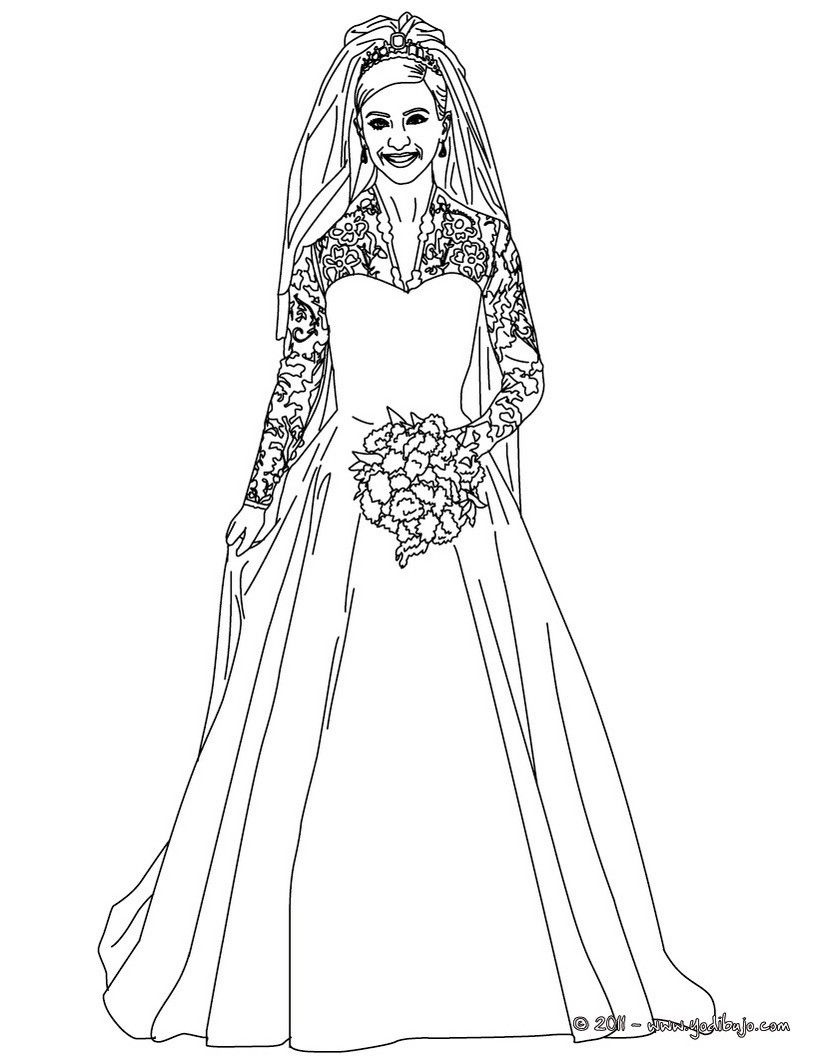 Realistic Of People Coloring Pages Wedding Coloring Pages Funny Wedding Dresses People Coloring Pages