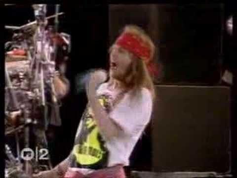 Guns N Roses Knocking On Heaven S Door Subtitulado Guns N Roses Cover Songs Freddie Mercury Tribute Concert
