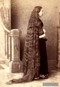 I love long hair, but wow...