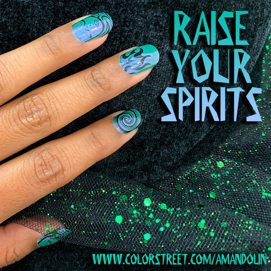 Witchy DIY Nail 100 real nail polish strips Zero Dry Time
