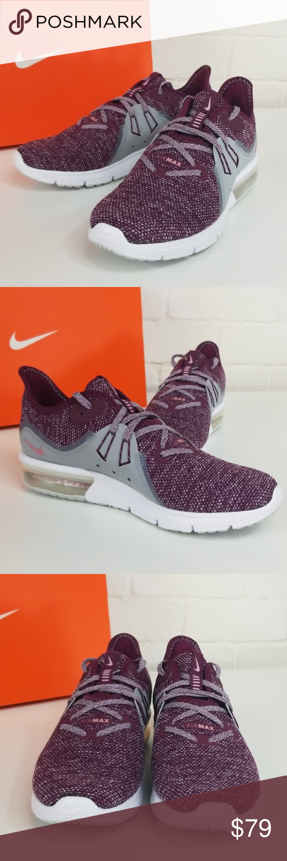 Schuhe NIKE Air Max Sequent 3 908993 606 BordeauxElemental Pink