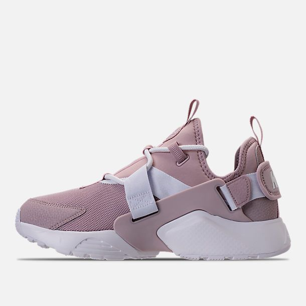 innovative design 66e95 bf055 Left view of Women s Nike Air Huarache City Low Casual Shoes in Particle  Rose Particle