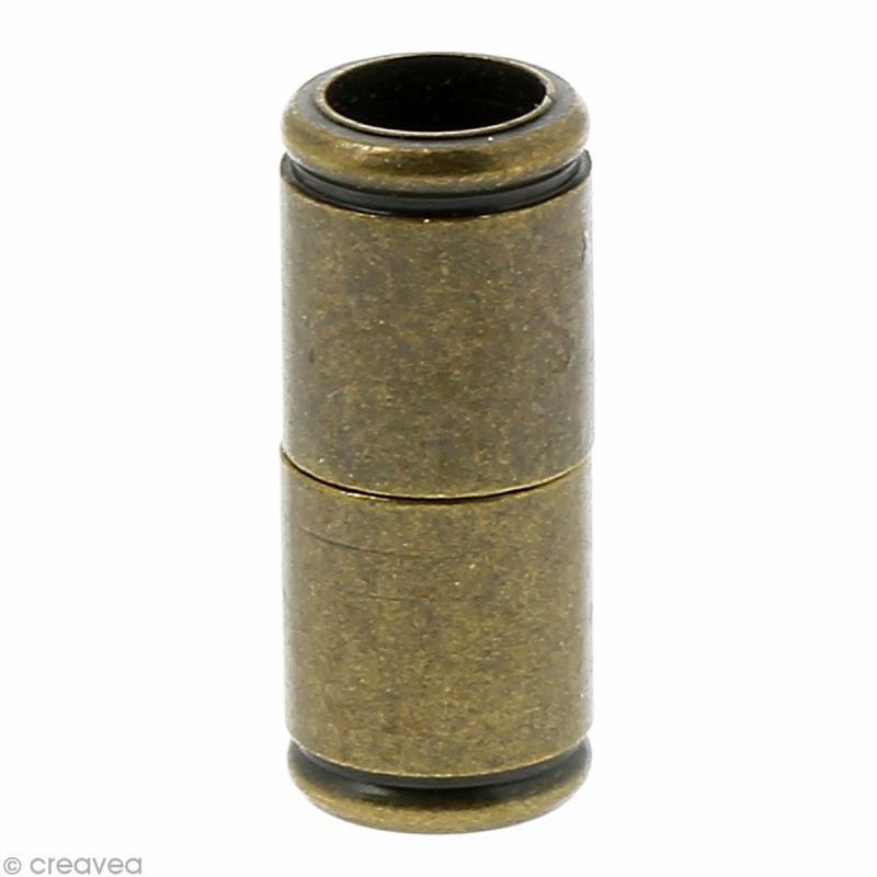 Compra nuestros productos a precios mini Cierre imantado tubo 15 x 4 mm - Bronce - 6 uds - Entrega rápida, gratuita a partir de 89 € !