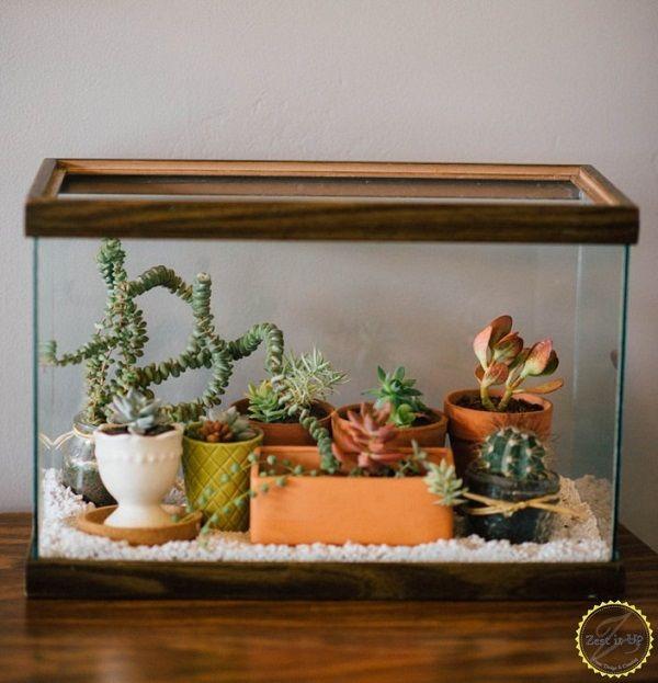 20 Easy DIY Succulent Terrarium Ideas for the Most Decor Value #succulentterrarium