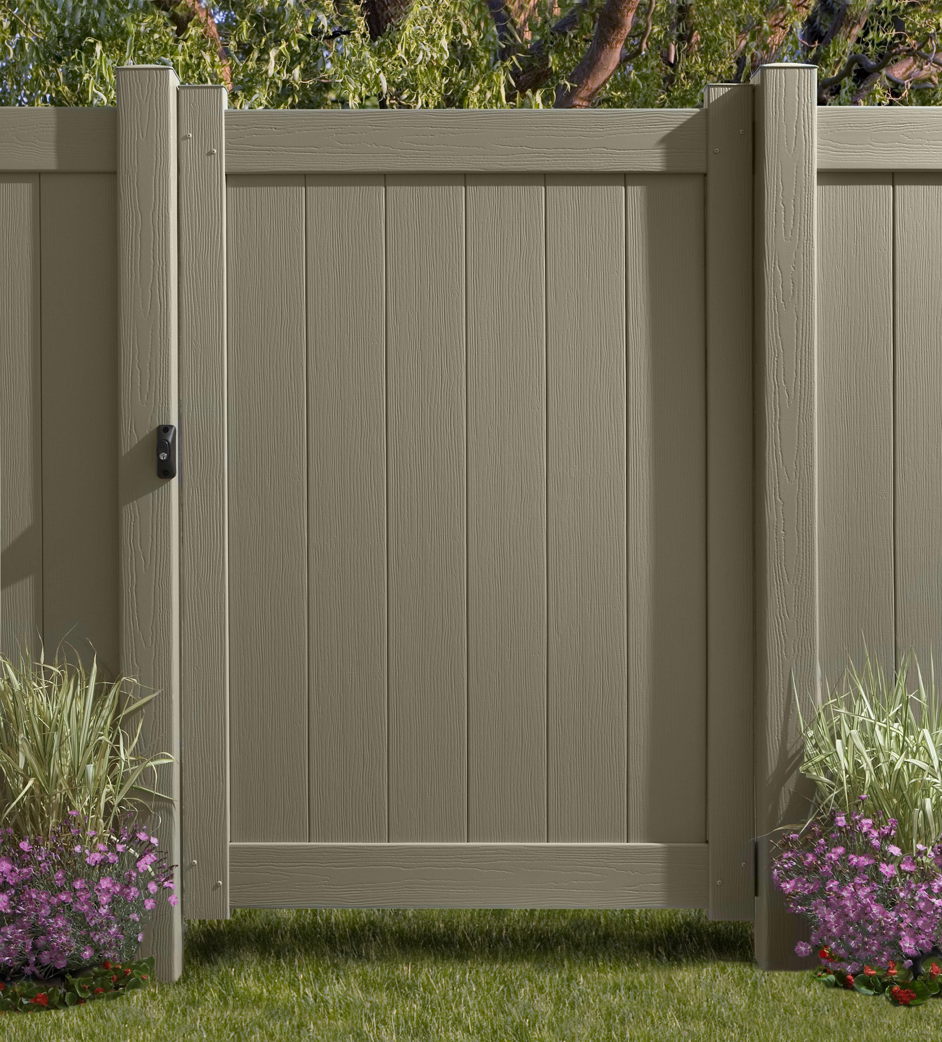 Vinyl privacy fence vinyl fences chesterfield certagrain vinyl vinyl fence gates privacy fence gates horse fence gates pool fence gates shipped and priced factory direct baanklon Image collections