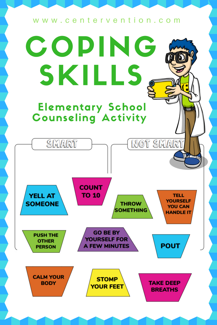 Coping Skills Worksheets Coping Skills Worksheets Social Emotional Learning Activities School Counseling Activities