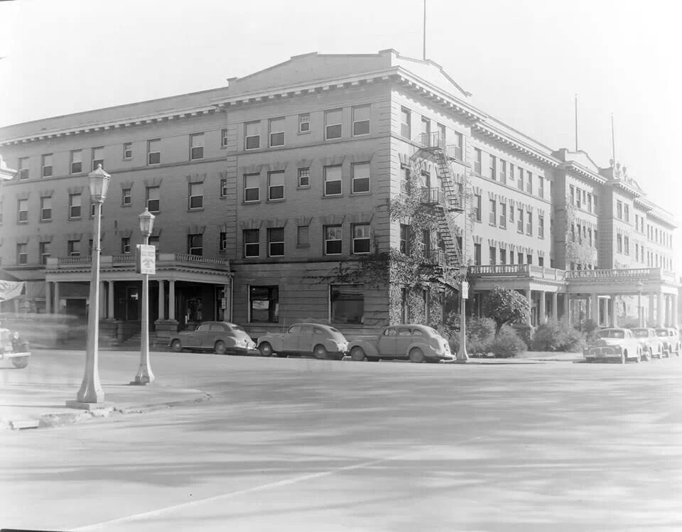 Wenonah Hotel In Bay City Michigan 1940 S This No Longer Exists